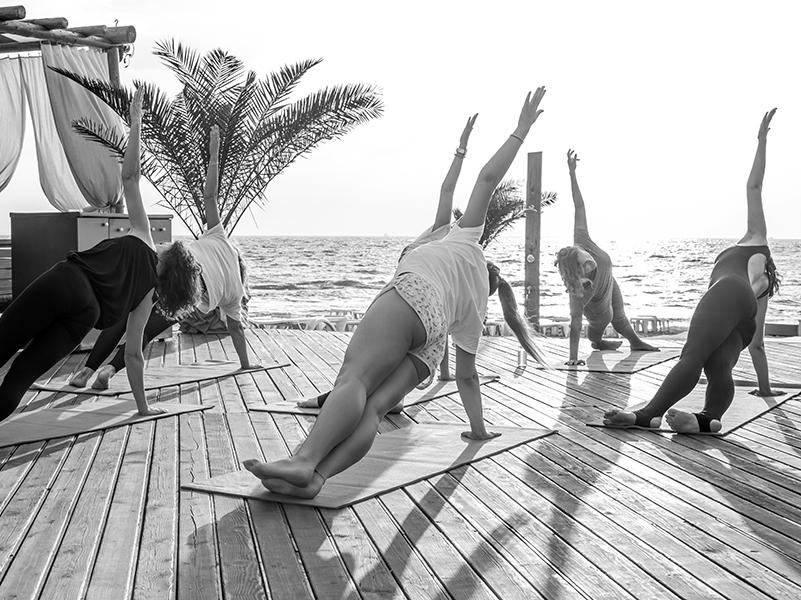 Yoga für private Anlässe