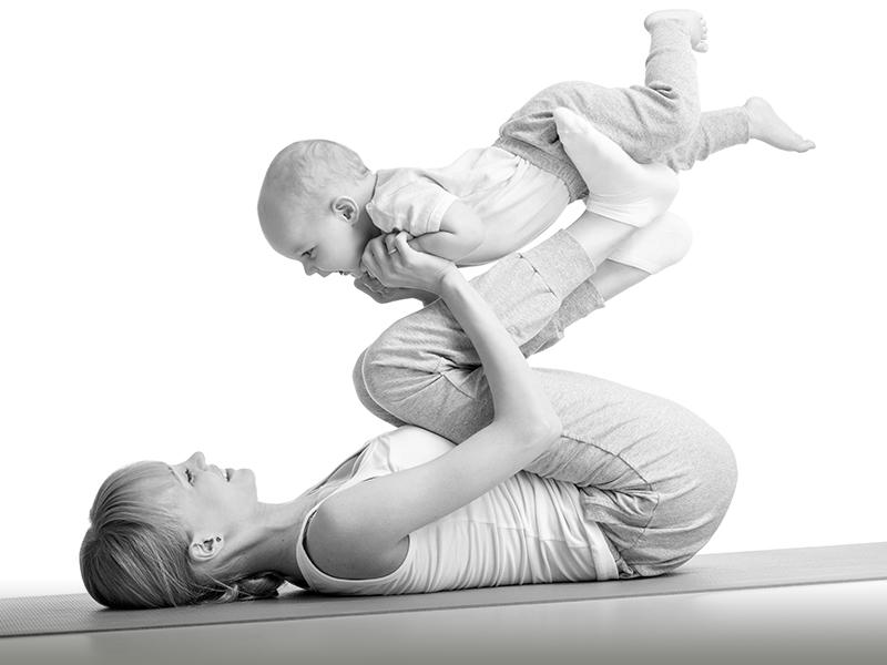 Exklusiv – Kurs Yoga für Mutter und Baby (Rückbildung)
